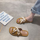 運動風涼拖鞋女外穿新款夏季可愛潮 千千女鞋