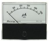 DC500uA 670 指針式工業用直流電流錶頭