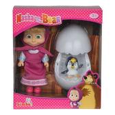 《 瑪莎與熊 mashabear 》瑪莎與企鵝蛋 ╭★ JOYBUS玩具百貨