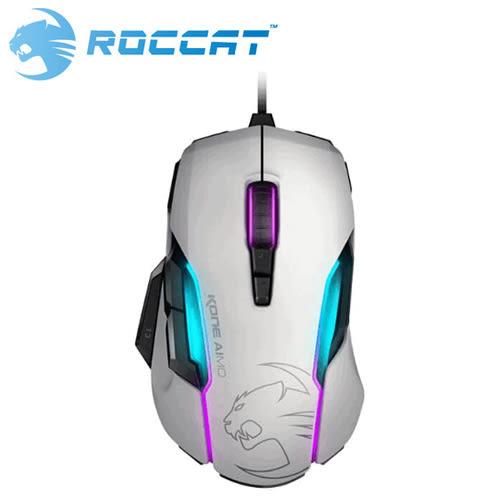ROCCAT 冰豹 Kone-AIMO 魔幻系列 艾摩版 RGBA電競滑鼠 白