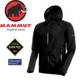 【MAMMUT Convey Tour HS Hooded Jacket 男L《/黑》】1010-26030-0001/長毛象/Gore-Tex /風雨衣/連帽防水★滿額送