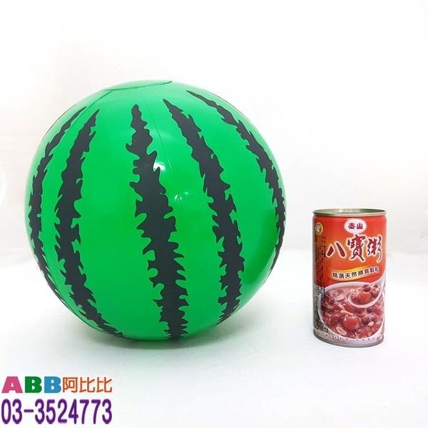 A1523_16吋充氣西瓜海灘球#皮球海灘球大骰子色子充氣棒武器道具槌子錘子充氣槌