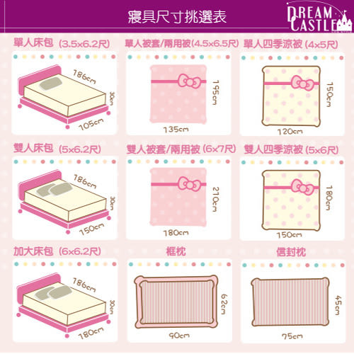 【享夢城堡】OPEN!郊遊趣系列-雙人四件式床包涼被組