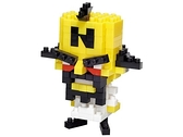 《 Nano Block 迷你積木 》NBCC_100袋狼大進擊 Dr. Neo / JOYBUS玩具百貨