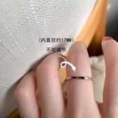 love字母元素不規則鈦鋼戒指女ins潮氣質簡約百搭時尚個性食指戒