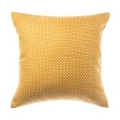 HOLA 奢華風星點緹花雙色抱枕-米黃45x45cm
