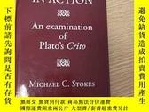 二手書博民逛書店Dialectic罕見in Action: An examination of Plato s CritoY4