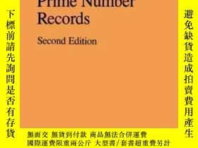 二手書博民逛書店The罕見Book Of Prime Number Records-素數記Y436638 Paulo Ribe