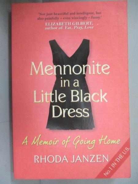 【書寶二手書T8/宗教_CA3】Mennonite in a Little Black Dress : A Memoir of Going Home
