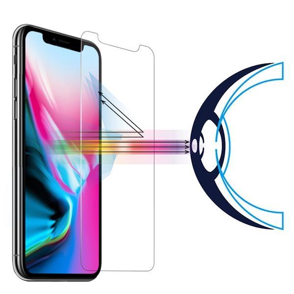 RetinaGuard 視網盾 手機保護貼品牌 iPhoneX 防藍光鋼化玻璃保護貼【不影響 3D touch】