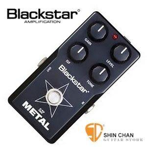 【金屬失真效果器】【Blackstar LT METAL】 【英國品牌】【黑星破音效果器】【黑】