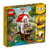 樂高積木 LEGO《 LT31078 》2018 年 Creator 創意大師 - 尋寶樹屋╭★ JOYBUS玩具百貨