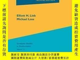 二手書博民逛書店罕見Analysis-分析Y436638 Elliott H. Lieb; ... American Math