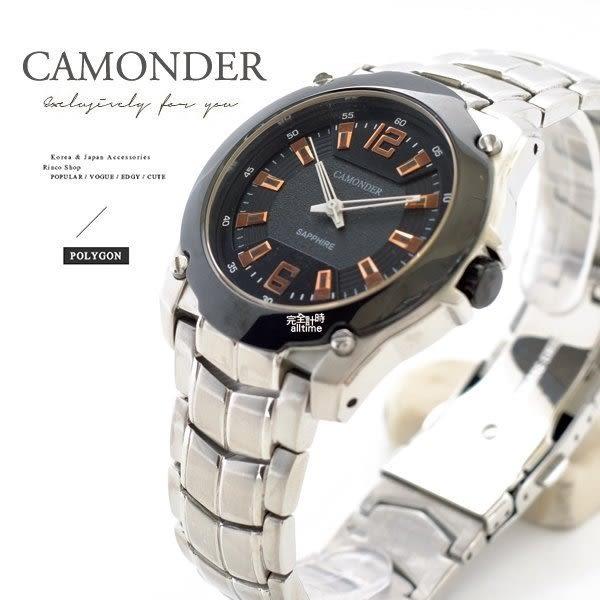 【完全計時】手錶館│ALEXANDER 亞歷山大 極簡品味 工業風 C8607 玫瑰黑 40mm 鋼帶 質感雙色