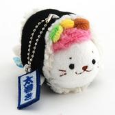 [熊熊eshop]日本 sirotan 小海豹壽司捲吊飾-大