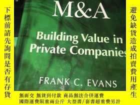 二手書博民逛書店Valuation罕見for M & A Building Va