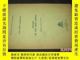 二手書博民逛書店COAL罕見MINES COMMITTEE REPORT OF THE FIRST SESSION 直譯:煤礦委員