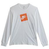 Nike AS M NSW TEE LS FUTURA BOX HBR  長袖上衣 AJ3874100 男 健身 透氣 運動 休閒 新款 流行