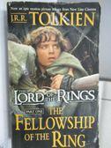 【書寶二手書T1/原文小說_OSO】The Lord of the Rings_Part 1