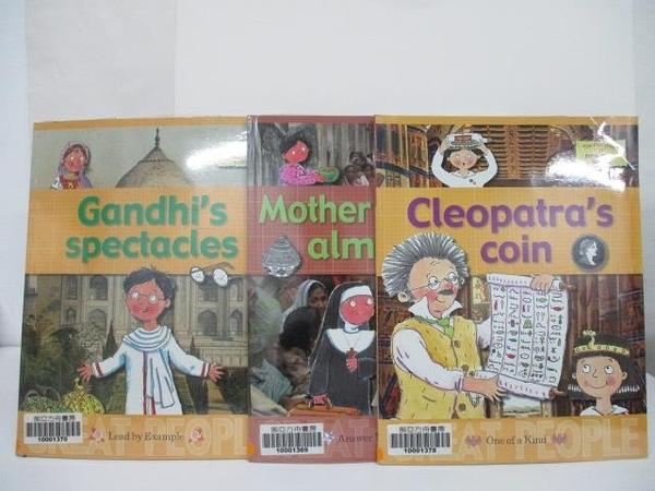 【書寶二手書T9/少年童書_EFM】The Storyteller of Knick-Knack Maeket-Cleopatra s Coin等_3本合售