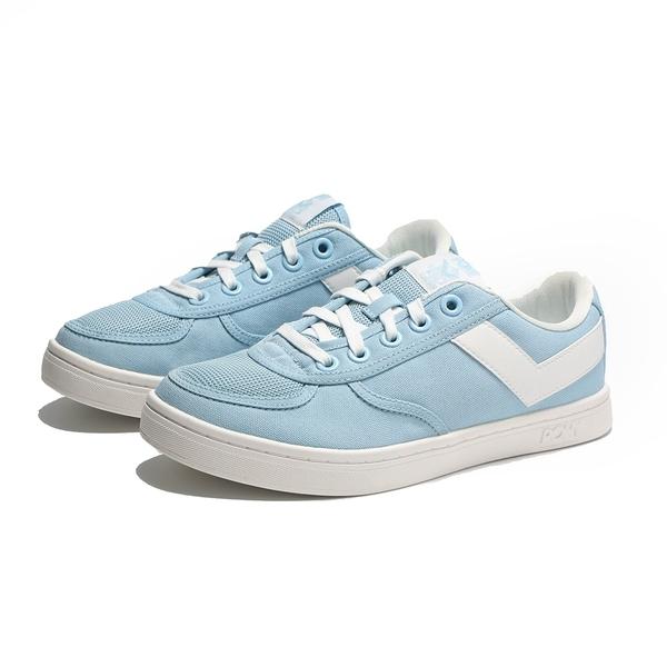 PONY 休閒鞋 SLAM DUNK 水藍 帆布 板鞋 女 (布魯克林) 91W1SL03PB