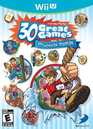 WiiU Family Party 30 Great Games: Obstacle Arcade 家庭派對30款遊戲:障礙商場(美版代購)