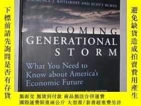 二手書博民逛書店英文原版罕見The Coming Generational St