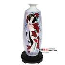 陶瓷手繪花瓶 貌美風姿 工藝品