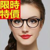 眼鏡架-超輕超韌時尚圓框女鏡框5色64ah5[巴黎精品]