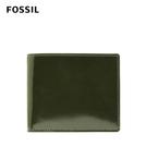 FOSSIL BENEDICT 真皮證件格零錢袋皮夾-青藤墨色 ML4299302