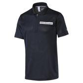 Puma BMW 男 短袖 上衣 深藍 Polo衫 短袖 短T 高爾夫 排汗 透氣 短袖 57526401