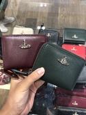 英國代購 Vivienne Westwood 防刮壓紋 黑紅/兩色 拉鍊 零錢包