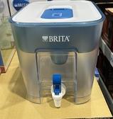 [限時限量促銷] C130047 BRITA FLOW TABLETOP 桌上型濾水箱8.2公升 含9入UNIVERSAL濾芯