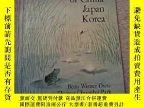 二手書博民逛書店Folk罕見Songs of China Japan Korea