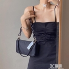 韓國小眾設計師JENNIE同款包包女2020夏新款單肩斜跨錬條腋下包潮 3C優購