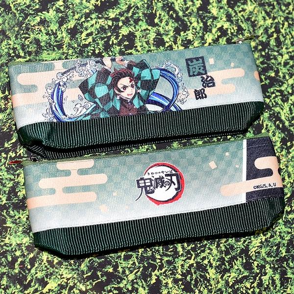 日本製 鬼滅之刃 無限列車 竈門炭治郎 筆袋 筆盒 文具袋 日本販售正版 POLY製