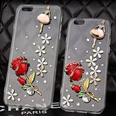 HTC U12+ U11 Desire12 A9s X10 A9S Uplay UUltra Desire10Pro U11EYEs 手機殼 水鑽殼 客製化 訂做 玫瑰舞者