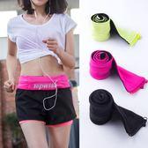 隱形手機包運動腰包女健身貼身小包