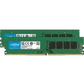 美光 16G (8x2) DDR4 2666 記憶體(CT2K8G4DFS8266)