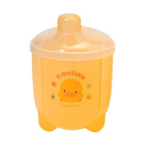 【奇買親子購物網】黃色小鴨抗菌大容量四格奶粉盒