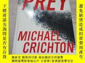 二手書博民逛書店PREY罕見MICHAEL CRICHTON:獵物邁克爾·克萊頓