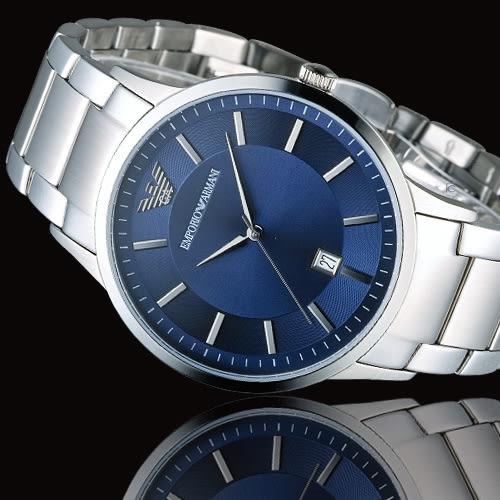 EMPORIO ARMANI Classic 簡約內斂時尚腕錶 AR2477