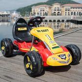 兒童電動車 兒童電動車四輪卡丁車可坐寶寶玩具汽車沙灘車小孩腳踏電瓶自行車 igo 小宅女大購物