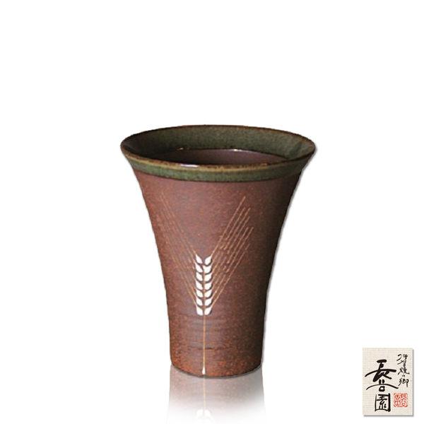 【日本長谷園伊賀燒】日式陶土杯(麥穗款大)