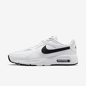 Nike Air Max Sc [CW4555-102] 男鞋 運動 休閒 基本款 氣墊 舒適 避震 球鞋 穿搭 白 黑