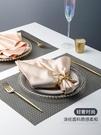 歐式餐巾布西餐廳擺盤折花布