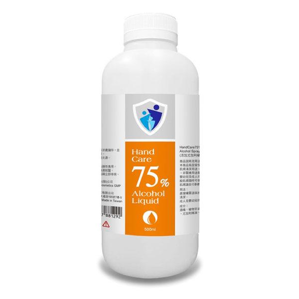 拜達 75% 酒精清潔液 (500ml/瓶)非藥用【杏一】