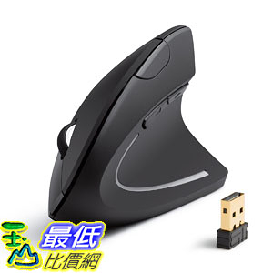 Anker AK-UBA 2.4G Wireless Vertical Ergonomic Optical Mouse, 800/1200/1600 DPI, 5 Buttons