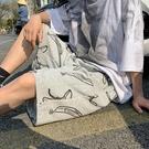 五分褲 短褲男潮ins夏季外穿五分褲潮牌休閑5分褲子潮流2021新款網紅港風