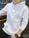 春秋季連帽衛衣男修身韓版學生寬鬆百搭薄款長袖t恤 【快速出貨】